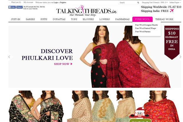Talking Threads was founded last year by former Fashionandyou.com chief executive officer (CEO) Pearl Uppal and Kulbir Uppal.