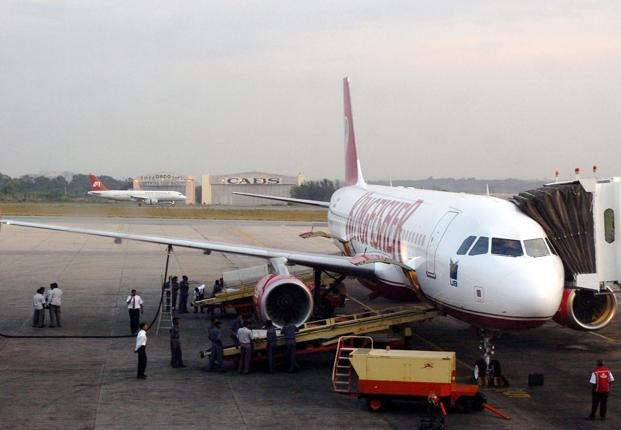 File photo of Kingfisher Airlines. Photo: AFP