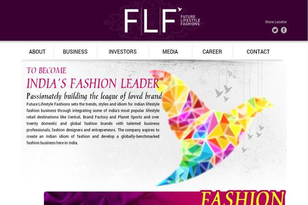 Future Lifestyle Fashions Q3 Profit Down 98 Livemint