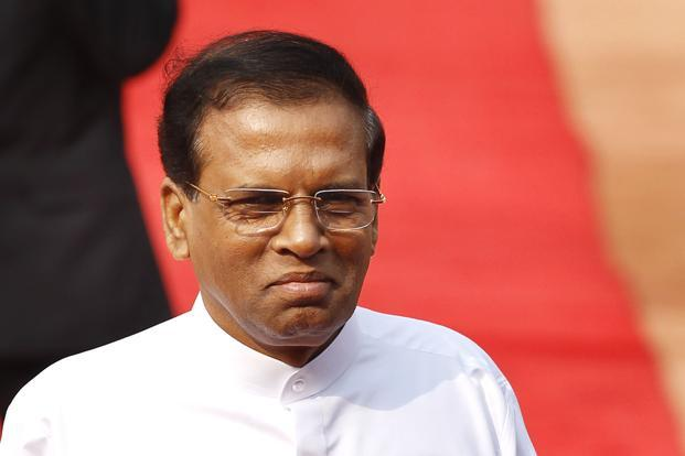 Sirisena also plans to travel to China in March, about a month before he's due to call parliamentary polls. Photo: HT