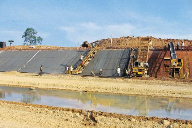 A file photo of an irrigation project in Andhra Pradesh. The absence of an information communication technology solution made execution and monitoring of many projects complicated. Photo: Mint