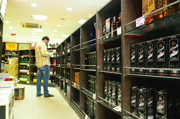While for most industries, permissions and clearances are needed when setting up a plant, for alcohol, it is for business as usual. Photo: Ramesh Pathania (Ramesh Pathania)