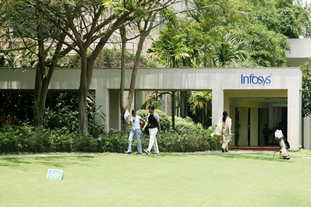 Earlier in February, Infosys undertook a management reshuffle on its delivery side, as part of CEO Vishal Sikka's 'new and renew' strategy as the company aims to become the 'next-generation services firm'. Photo: Bloomberg (Bloomberg)