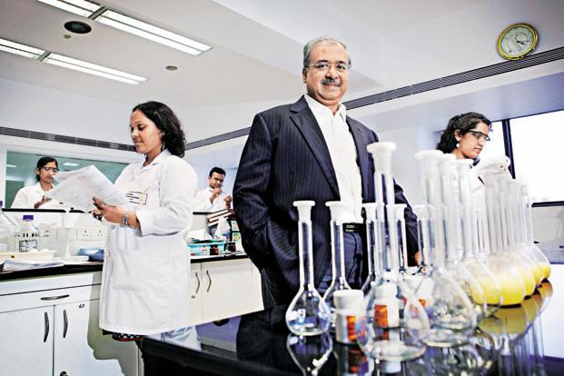 Sun Pharma founder Dilip S. Shanghvi, a first generation entrepreneur, is also chairman and managing director of Sun Pharma Advanced Research Co Ltd, and chairman of the Shantilal Shanghvi Foundation. Photo: Bloomberg