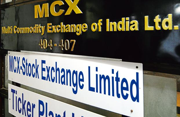 MCX's shares have recouped all losses and have risen to around `1,200 apiece after the Union budget announcement. Photo: Ramesh Pathania/Mint (Ramesh Pathania/Mint)