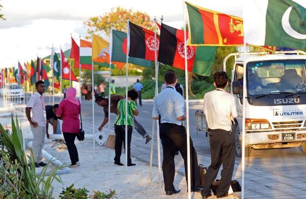 File photo. Saarc groups Afghanistan, Bangladesh, Bhutan, India, the Maldives, Nepal, Pakistan and Sri Lanka. Photo: AFP (AFP)
