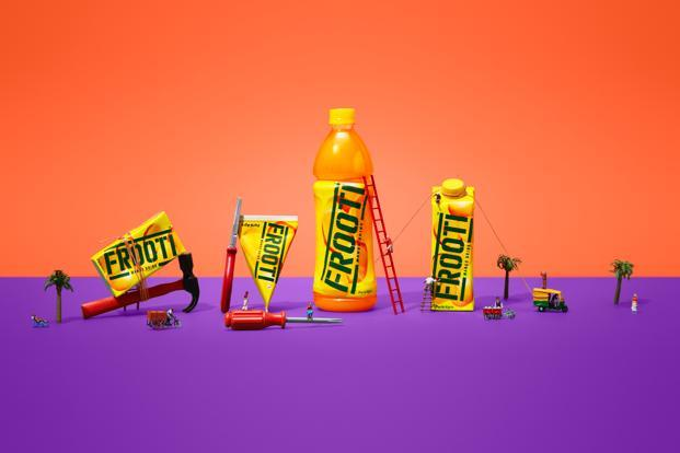 This is the first time in Frooti's 30-year existence that the company has radically changed its logo and design.  (This is the first time in Frooti's 30-year existence that the company has radically changed its logo and design. )