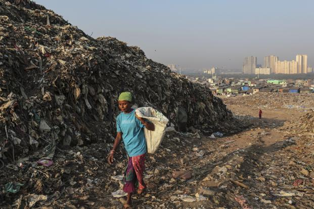Mumbai is being buried under a mountain of its own trash livemint - Rd wastebasket ...