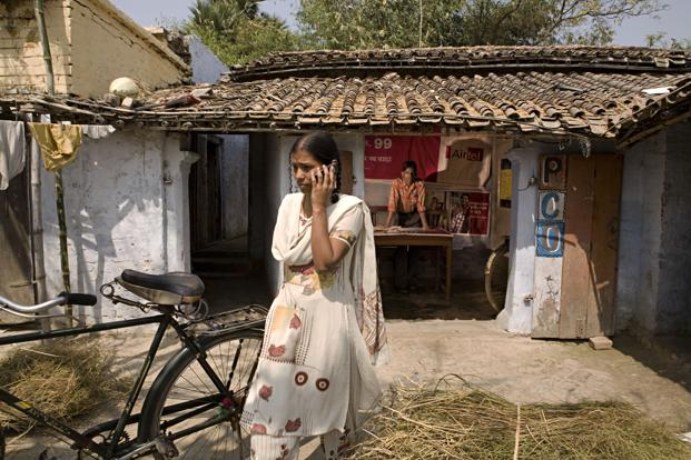 Some recent news reports reveal the bizarre restrictions on women using mobile phones in rural India. Photo: Mint