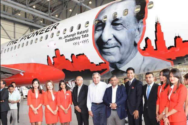 Airasia India Unveils Fourth Aircraft With Livery Tribute