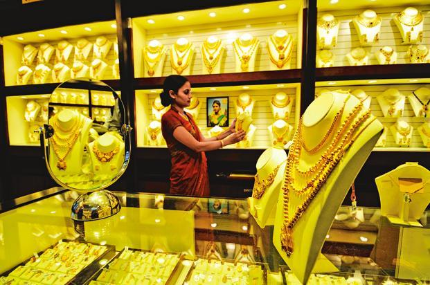 Gold prices regained smartly at the bullion market here on Saturday on fresh buying from jewellery stockists and traders amid ensuing seasonal demand. Photo: Priyanka Parashar/Mint