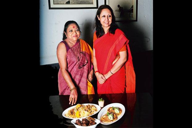 Pritha Sen (left) with Manzilat Fatima. Photographs: Indranil Bhoumik/Mint