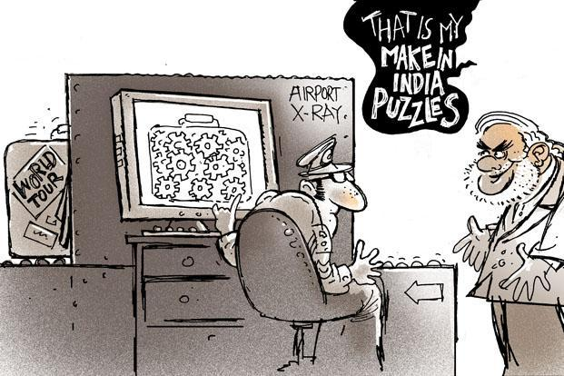 Narendra Modi and Make in India puzzles