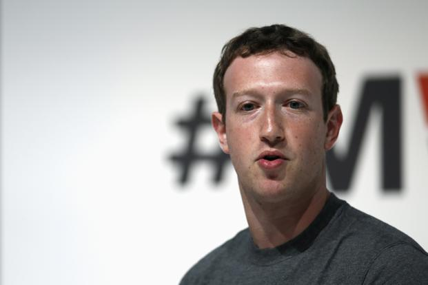 Facebook founder and CEO Mark Zuckerberg. Photo: Reuters