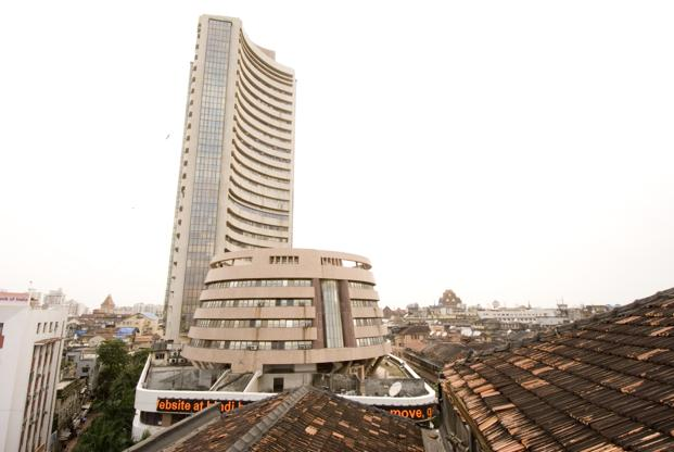A file photo of the BSE building in Mumbai. Photo: