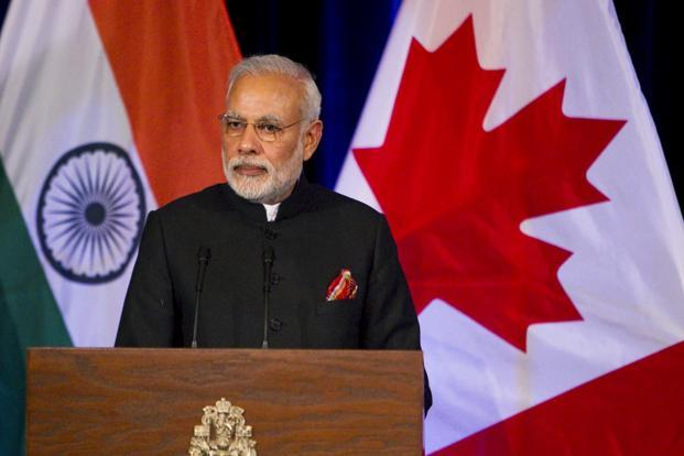 Modi's trip to Canada was the first bilateral visit to that country by an Indian prime minister in 42 years. Photo: Reuters
