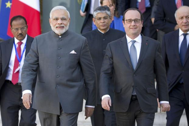 In a joint statement issued during Modi's visit to France, the country reaffirmed its support for India's candidature for a permanent seat in the UN Security Council. Photo: Reuters