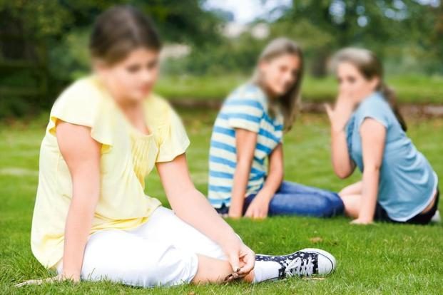 Overweight children and teens are often a target of bullies.