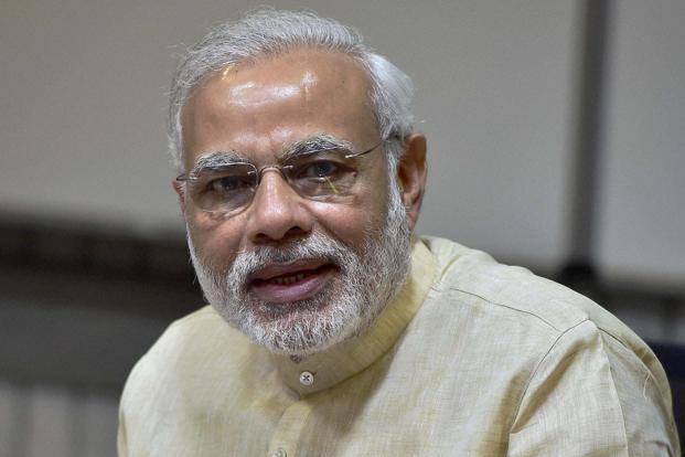 Narendra Modi on Twitter has an average 1,094 re-tweets per tweet. Photo: PTI
