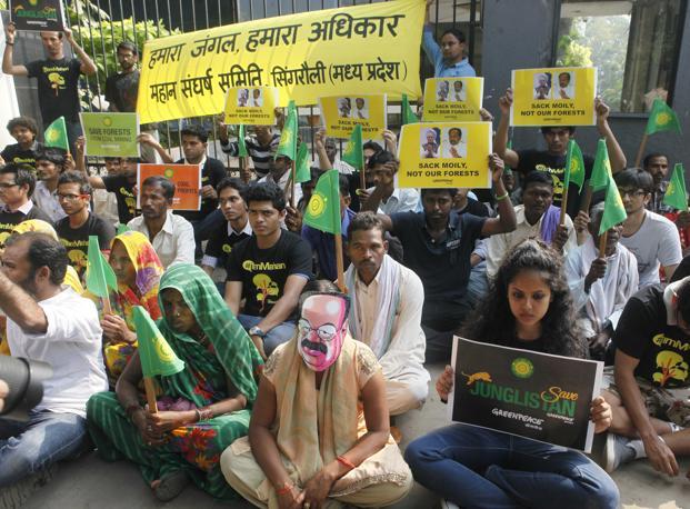Greenpeace changes the politics