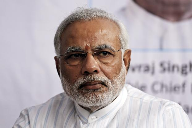 A file photo of Narendra Modi. Photo: Bloomberg