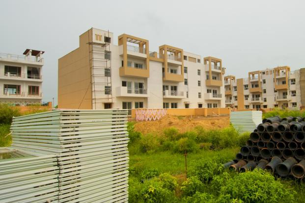Some of India's largest developers have seen debt surge more than 60% as mortgage rates around 10% deter buyers of their new apartment projects. Photo: Ramesh Pathania/Mint