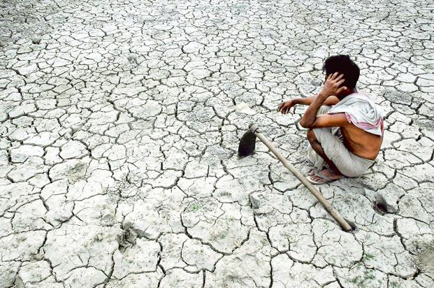 With the peak rainfall season in the major Asia agriculture growing regions beginning now, a prolonged dry spell has important implications on agricultural output, with a lag. Photo: AFP