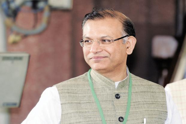 Minister of state for finance Jayant Sinha said the government is going to further streamline and digitise e-commerce transactions to make flow of goods easier. Photo: Hindustan Times