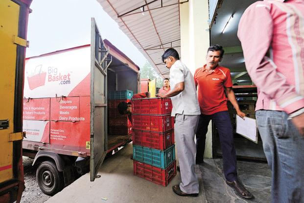The big private-labels push will also entail expanding BigBasket's 40,000 sq. ft Bengaluru warehouse to 75,000 sq. ft by August. Photo: Hemant Mishra/Mint
