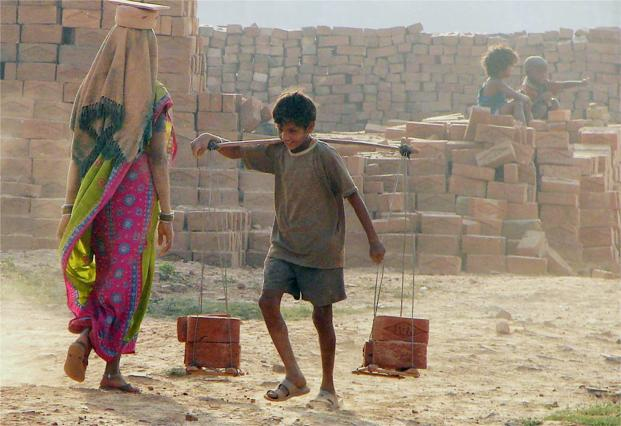 One in every 11 children in India is working. Photo: PTI