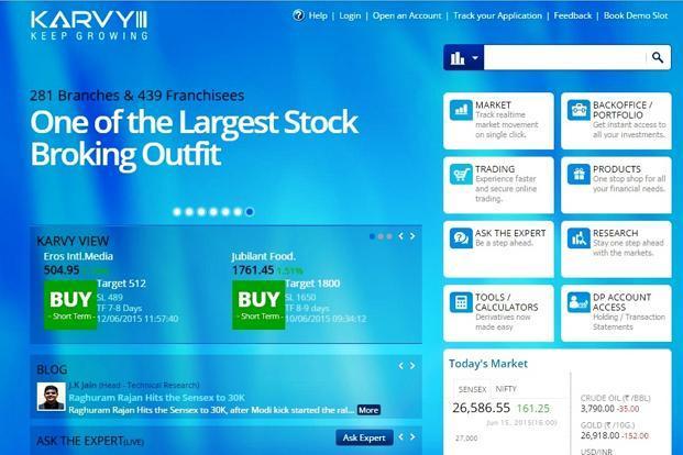 Online trading accounts comparison india