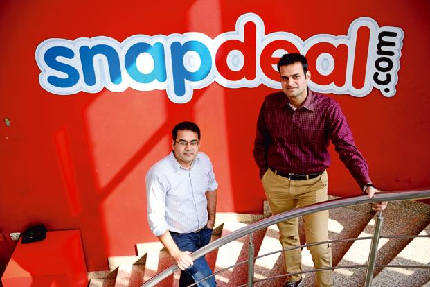Founded in 2010 by Kunal Bahl (left) and Rohit Bansal, Snapdeal has become the biggest local e-commerce rival to Flipkart. Photo: Pradeep Gaur/Mint