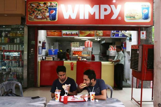 Wimpy in Aurobindo Market offers five types of lamb burgers
