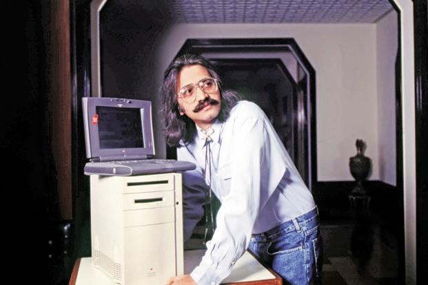 Miheer Mafatlal in 1994 got three beta accounts for Apple's eWorld service. Photo: Napol Stock Image