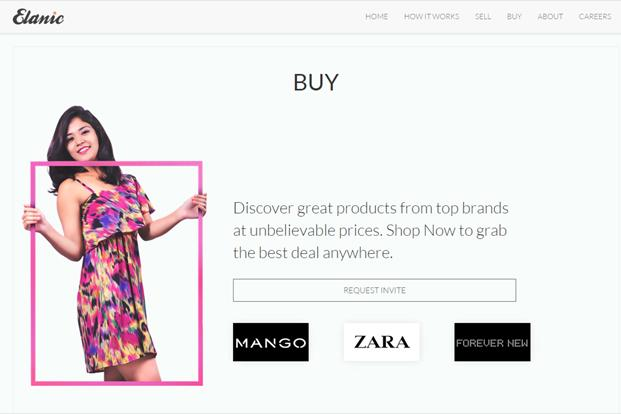 Elanic, which is currently available in Bangalore, offers clothing, footwear and accessories at prices that are 70% lower than the original prices of the products.