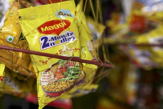 The instant noodles category has suffered a massive drop in sales to about <span class='WebRupee'>Rs.</span> 30 crore a month. Photo: Bloomberg
