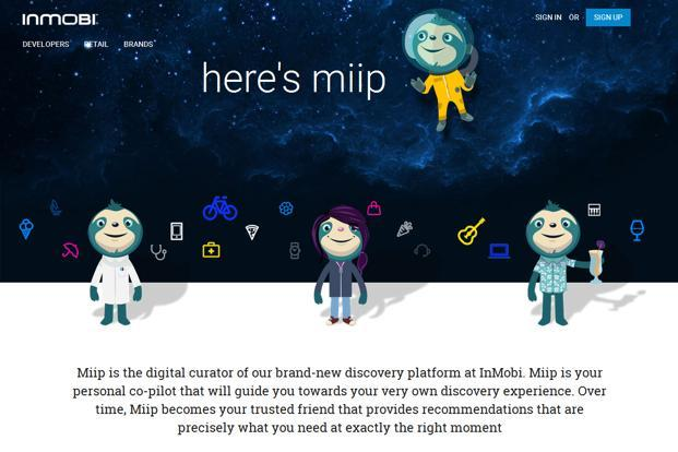 Miip will use visuals within mobile apps, extract content from apps, show ads based on a user's shopping patterns on the mobile and also allow shoppers to buy products through the payments service Stripe.