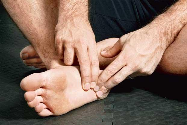 Plantar fasciitis affects the connective tissue on the underside of the foot. Photo: Aniruddha Chowdhury/Mint