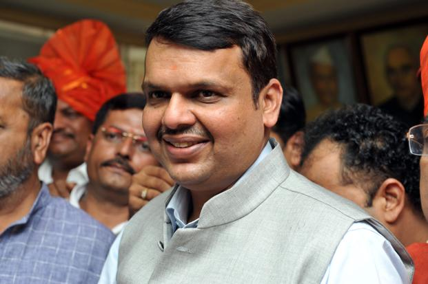 A file photo of Maharashtra chief minister Devendra Fadnavis. Photo: S. Kumar/Mint
