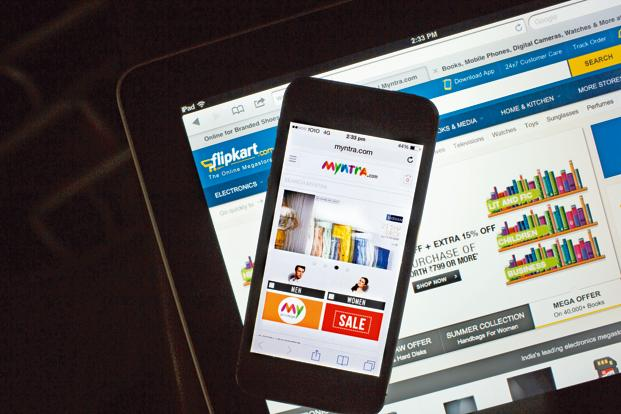 Flipkart currently gets 75% of its traffic through its mobile apps. Photo: Bloomberg