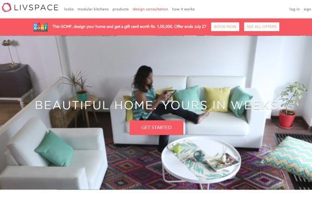 Livspace, which raised $4.6 million from venture capital firms Helion Venture Partners and Bessemer Venture Partners, is one of the several start-ups in the online home design and furniture space.