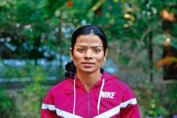 Dutee Chand. Photo: Rafiq Maqbool/AP