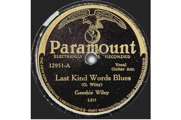 "Wiley's masterpiece is ""Last Kind Words Blues"", which is also one of the rarest blues records with only three known existing copies."