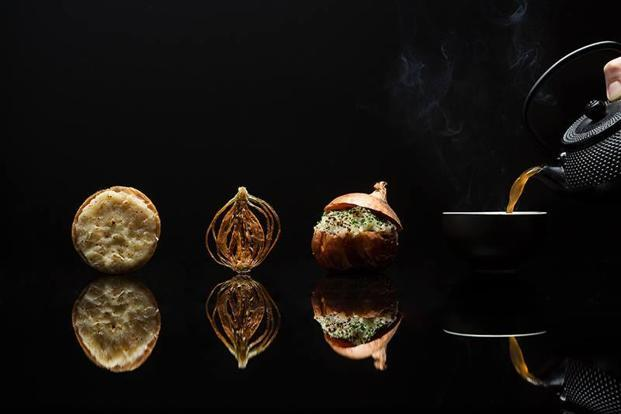 Singaporean chef Jasan Tan pays homage to the onion in a four-part dish called The Bulb of Epiphany which uses upto two kilos of the bulbous vegetable per diner.