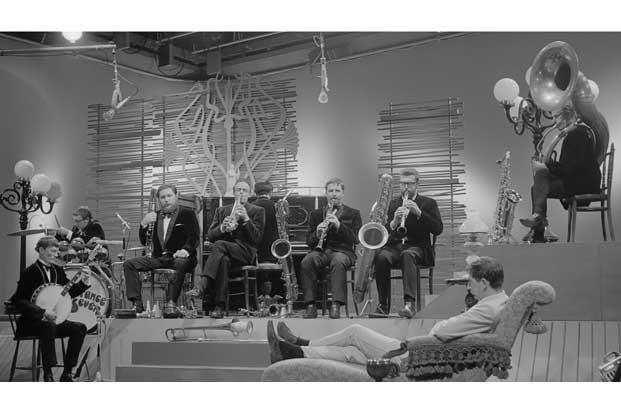 The Temperance Seven on Dutch television in 1962. Picture courtesy Nationaal Archief