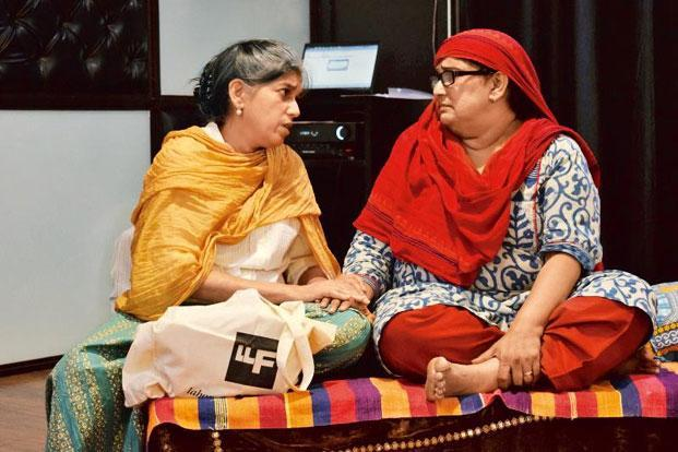 Bhishmotsav: Ratna Pathak Shah (left) and Seema Bhargava Pahwa are among the performers.