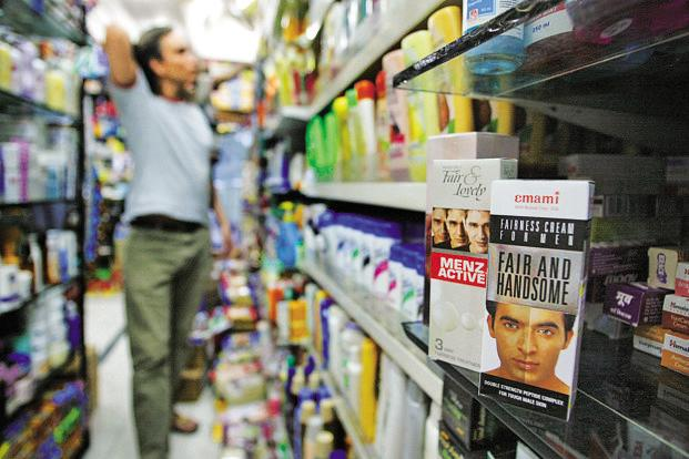 Indian men till recently had very little in the form of cosmetics aimed at them. Photo: Bloomberg