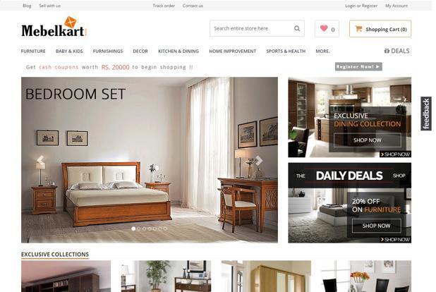 AskMe invests 20 mn in online furniture marketplace MebelKart
