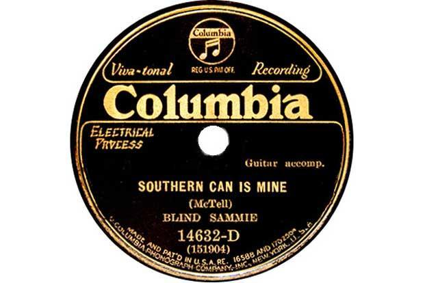 The record label for Southern Can Is Mine