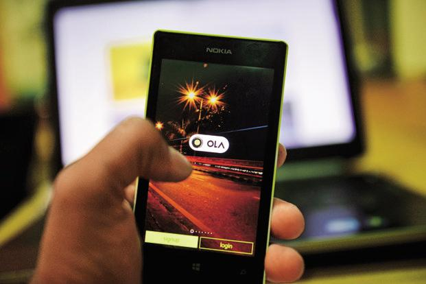 Ola says it has around 20 million customers and is already one of the top three mobile wallets in the country. Photo: Pradeep Gaur/Mint